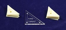 "Buy Mylar 1.5"" Right Triangle- 51 Piece Set - Quilting / Sewing Templates -"