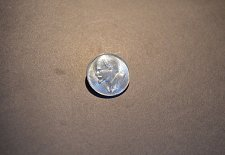 Buy Soviet Union silver badge with Lenin on front