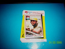 Buy DAVE PARKER PIRATES 1982 TOPPS KMART 20TH ANNIVERSARY #34 OF 44