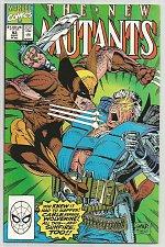 Buy The NEW MUTANTS #93 MARVEL COMICS 1991 WOLVERINE/CABLE Author: Louis Simonson