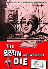 Buy The Brain That Wouldn t would not Die DVD Jason EVERS Virginia LEITH black & whi