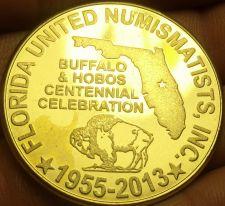 Buy Huge 38.7mm F.U.N. 58th Annual 2013 Convention Medallion~2013~Florida~Free Ship