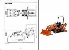 Buy Kubota BX25 BX25D Backhoe Loader Service Manual on a CD