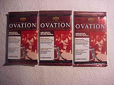 Buy 3 new baseball PACK 1999 UPPER DECK OVATION - Mickey MANTLE piece of history