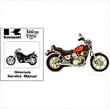 Buy 1985-2001 Kawasaki Vulcan 750 Twin ( VN750 ) Service & Parts Manual on a CD