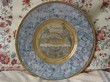 Buy ART OF CHOKIN Engraved Display Plate Hawaii Theme