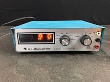 Buy Bell & Howell Heath Schools Digital Multi meter tester 202 2 nixie console volt