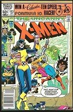 Buy X-men #153 High Grade Marvel Comics 1982 Cockrum/Rubinstein