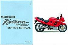 Buy 1988-1997 Suzuki GSX600F Katana 600 Service Manual on a CD