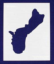 Buy Island of Guam Stencil -14 mil Mylar Painting/Crafts