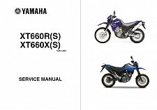 Buy 04-14 Yamaha XT660R - XT660X Service Repair Workshop Manual CD XT 660 R X XT660