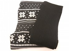 Buy SIZE L Womens 2PK CHRISTMAS FAIRISLE Fleece Lined Leggings NO BOUNDARIES Skinny