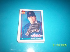 Buy 1991 Topps Traded danny jackson cubs #59T mint free ship
