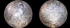 Buy 1780-SF Austrian 1 Thaler World Silver Coin - Austria - Maria Theresa RESTRIKE