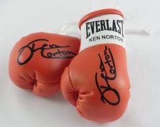Buy Autographed Mini Boxing Gloves Ken Norton