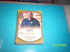 Buy BOB WATSON #38 2013 Panini USA Champions Gold Boarder Card FREE SHIP