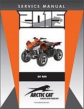 Buy 2015 Arctic Cat XC 450 ATV Service Repair Workshop Manual CD --- XC450 450XC