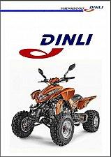 Buy Dinli DL-904 Lightning 450 ATV Service Manual on a CD