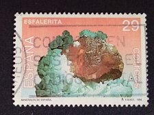 Buy Spain 1994 1v used Stamp Mi3145 Minerals - Blende