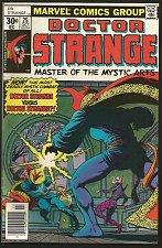 Buy Dr. Strange #25 JIM STARLIN - MilgromMarcus Marvel Comics 1977 Very Fine+ range