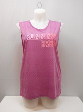 Buy Womens Athletic Muscle Tank SIZE XL DANSKIN Orchid Scoop Neck Sleeveless