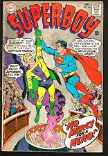 Buy SUPERBOY 141 DC Comics 1967 Silver Age VG/+ range