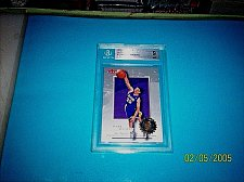 Buy 2000-01 Fleer Authority MARK MADSEN LAKERS BGS 9 Graded Rookie Basketball Card