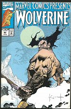 Buy WOLVERINE: Marvel Comics Presents #95 1st print 1991, Ghost Rider/Cable share Bk