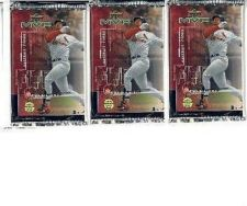 Buy 3 new baseball PACKs - 1999 UPPER DECK MVP game used jersey souvenirs autographs