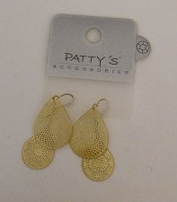 Buy Womens Fashion Drop Dangle Earrings Yellow Teardrops PATTYS Hook