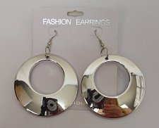 Buy Women Fashion Drop Dangle Earrings Silver Tones Hook Fasteners FASHION EARRINGS