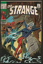 Buy Dr. Strange #176 Fine/VF Gene Colan/RoyThomas/Palmer Marvel Comics 1968 1stPrint