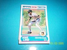 Buy 1988 Score Young Superstars series 11 baseball card JOSE LIND #4 FREE SHIP