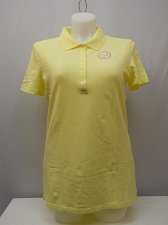 Buy Womens Activewear Polo Shirt Size 20 FADED GLORY Solid Yellow Short Sleeves