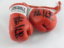 Buy Autographed Mini Boxing Gloves Alan Minter