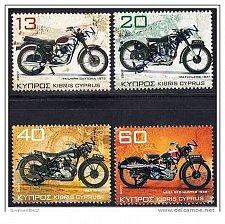 Buy CYPRUS 2007 OLD MOTORCYCLES SET opt. SPECIMEN MNH (TRIUMPH, ARIEL, MATCHLESS)