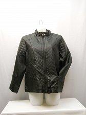 Buy PLUS SIZE 2X Women Motorcycle Jacket LAURA LANE Black Zip Front Zip Pockets