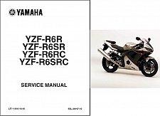 Buy 2003-2005 Yamaha YZF-R6 Service Repair Workshop Manual CD -- YZFR6
