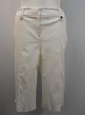 Buy Women Capris STYLE&CO PLUS SIZE 24W Skimmers White Tummy Control Relaxed Hips