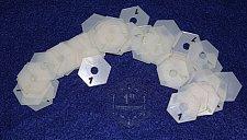"Buy Mylar 1"" Hexagon- 51 Piece Set - Quilting / Sewing Templates -"