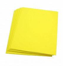 Buy Craft Foam Sheets--9 x 12 Inches - Yellow - 10 Sheets-2 MM Thick