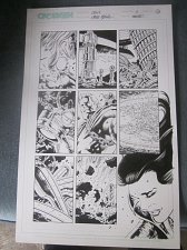 Buy Original Comic Art CRUX Issue #4 Page16 Cross Gen Comics Steve Epting