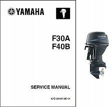 Buy Yamaha F30 / F40 4-Stroke Outboards Service Repair Manual CD - F30A, F40B