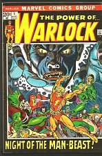 Buy THE POWER OF WARLOCK #1 Guardians of the Galaxy 1972 Man Beast Fine range