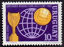 Buy Uruguay 1v mnh Stamp 1966 Mi1035 World Soccer Championship 1966