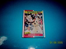 Buy 1987 Fleer Baseballs Best Sluggers Vs Pitchers Kevin Bass Astros