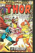 Buy THOR #246 WEIN BUSCEMA SINNOTT Marvel Comics 1976 1st series G+/VG FIRELORD