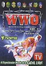 Buy WWO WORLD WRESTLING ORGANIZATION VOL.1 DVD MOVIE 240mins. events 1-4 LUCHA LIBRE