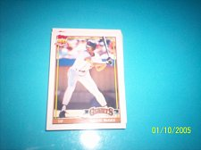 Buy 1991 Topps Traded card of willie mcgee giants #76T mint free ship