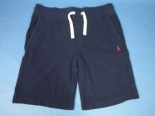 Buy Ralph Lauren Polo Knit Drawstring Workout Shorts Mens Sz XL Navy Blue NWT $50